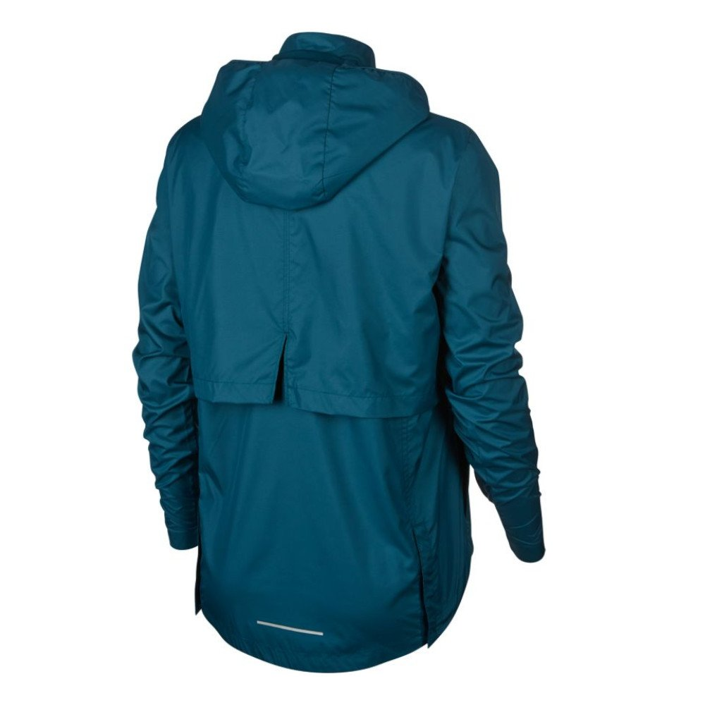 nike essential jacket w morska