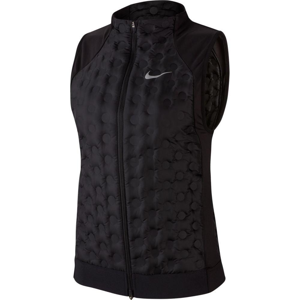 nike aeroloft running vest w czarna