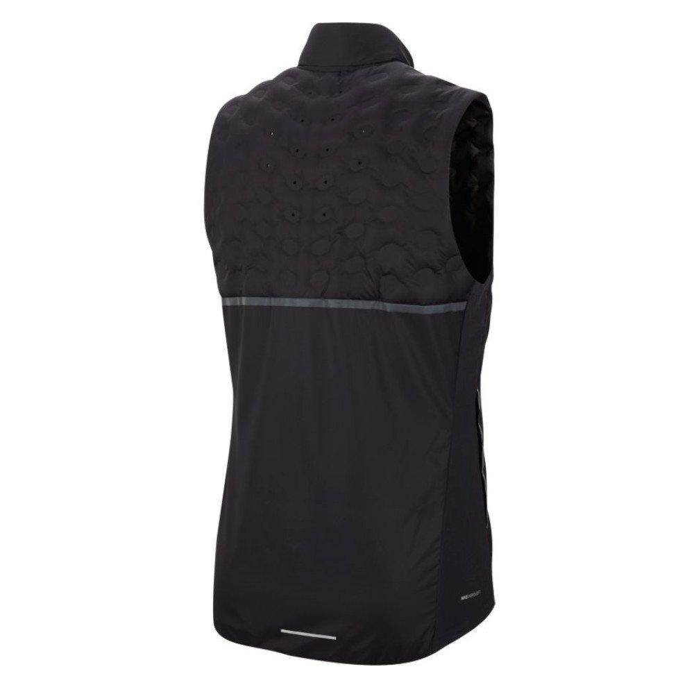 nike aeroloft running vest m czarna