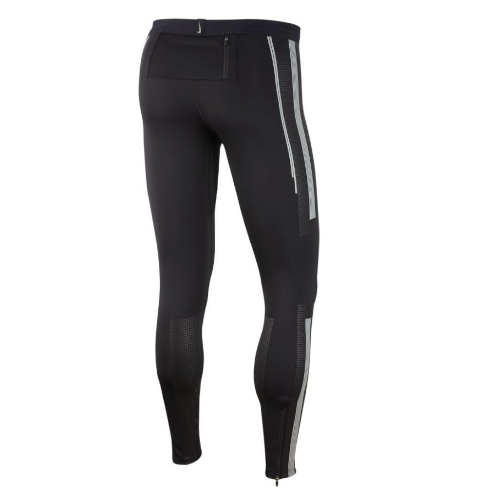 nike power flash running tights m czarne