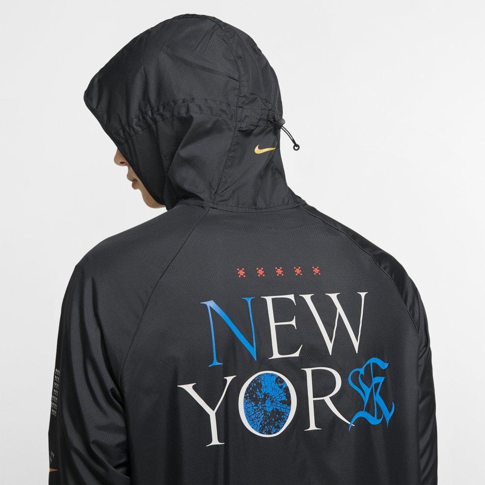 nike essential jacket nyc m czarna
