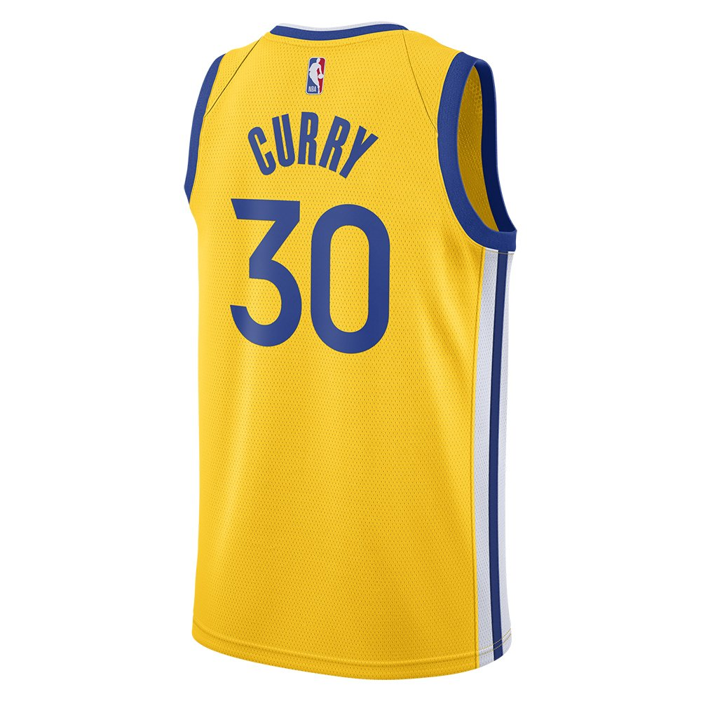 nike nba  golden state warriors swingman jersey stephen curry  #30 (at9799-731)