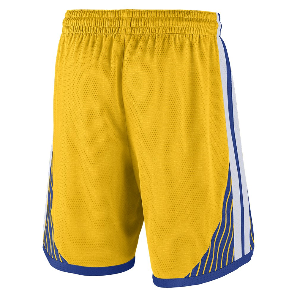 nike nba golden state warriors swingman road short (at9924-728)