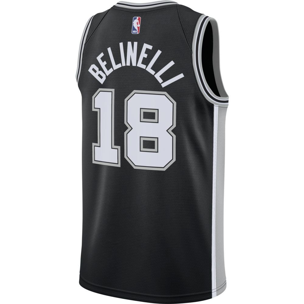 nike nba swingman jersey san antonio spurs  (864509-019)