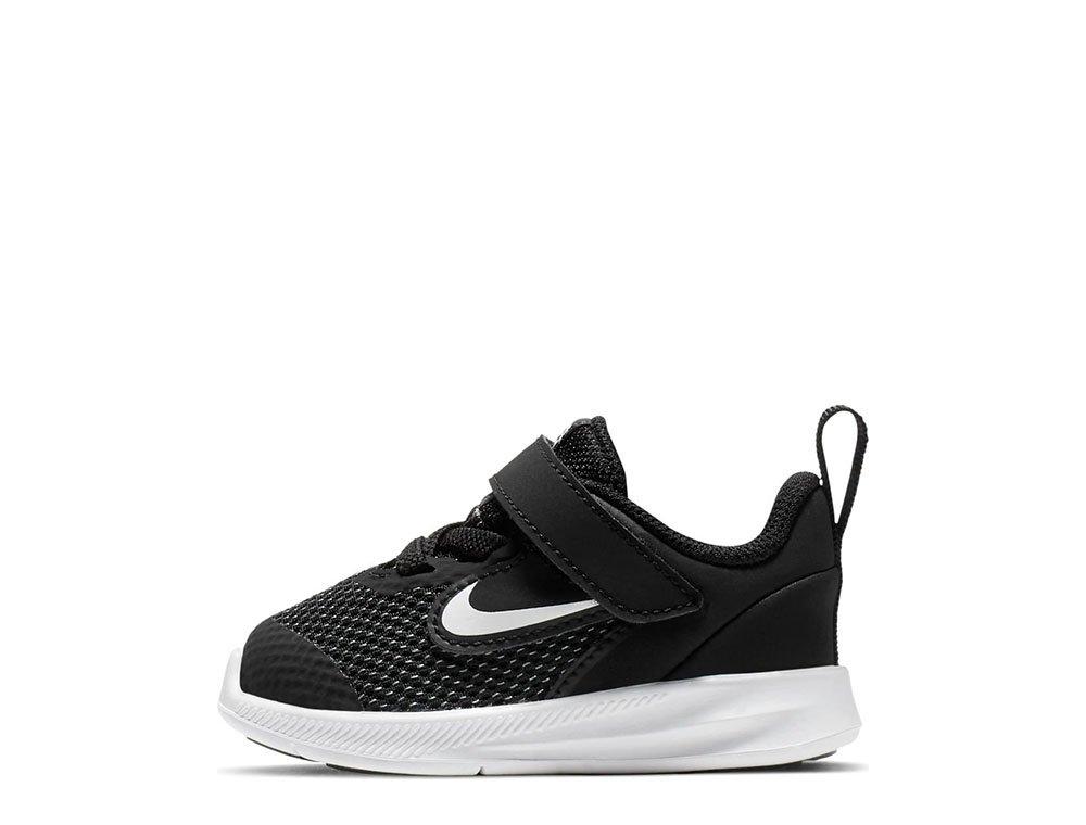 Nike Downshifter 9 (TDV) czarno białe