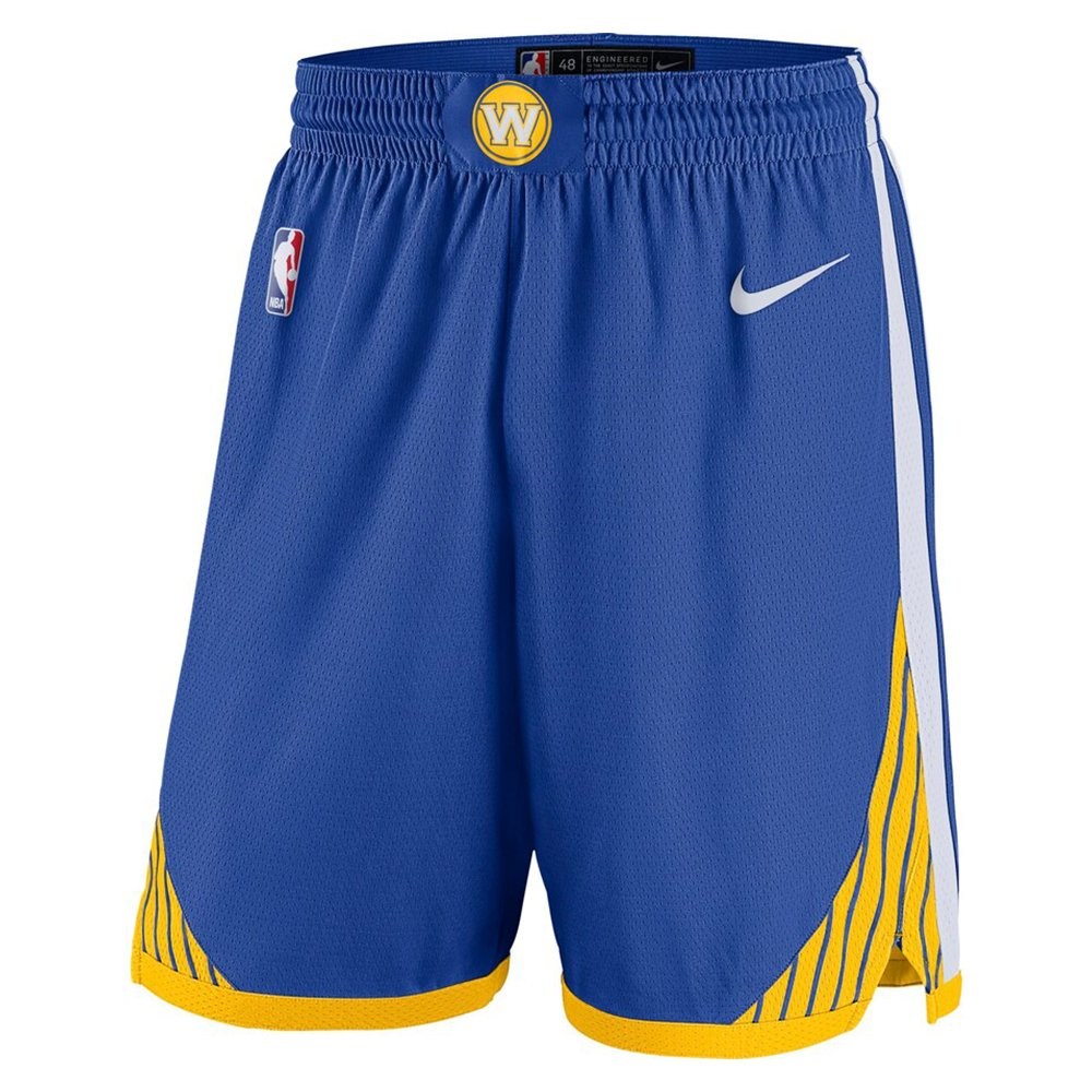 nike nba golden state warriors swingman road short  gs (ez2b7babz-war)
