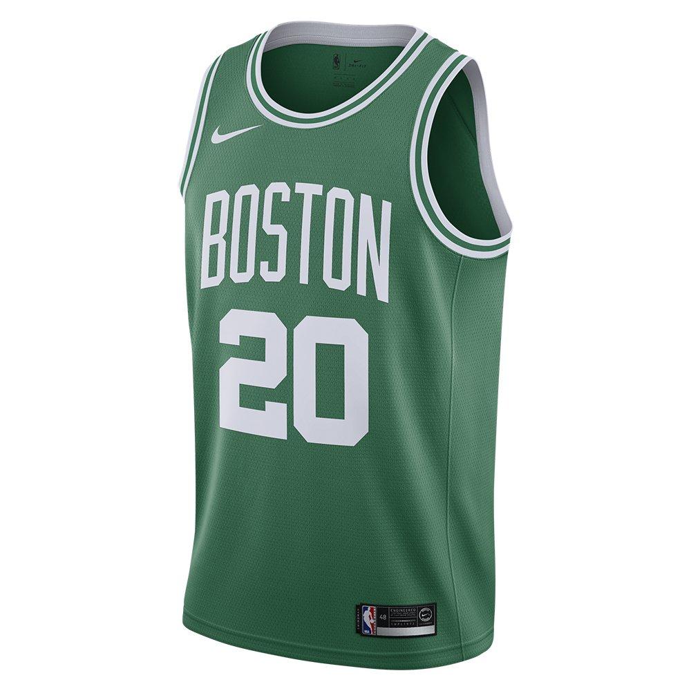 nike icon swingman nba jersey gordon hayward - boston celtics (864461-320)