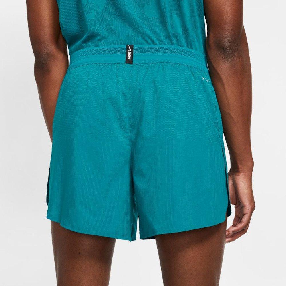 nike aeroswift shorts 5in m niebieskie