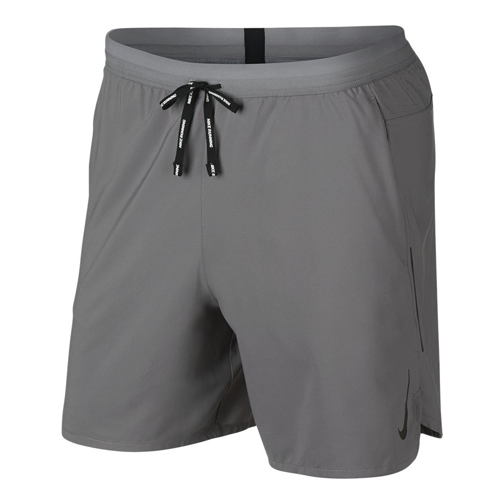 nike flex stride 7in 2 in 1 shorts m szare