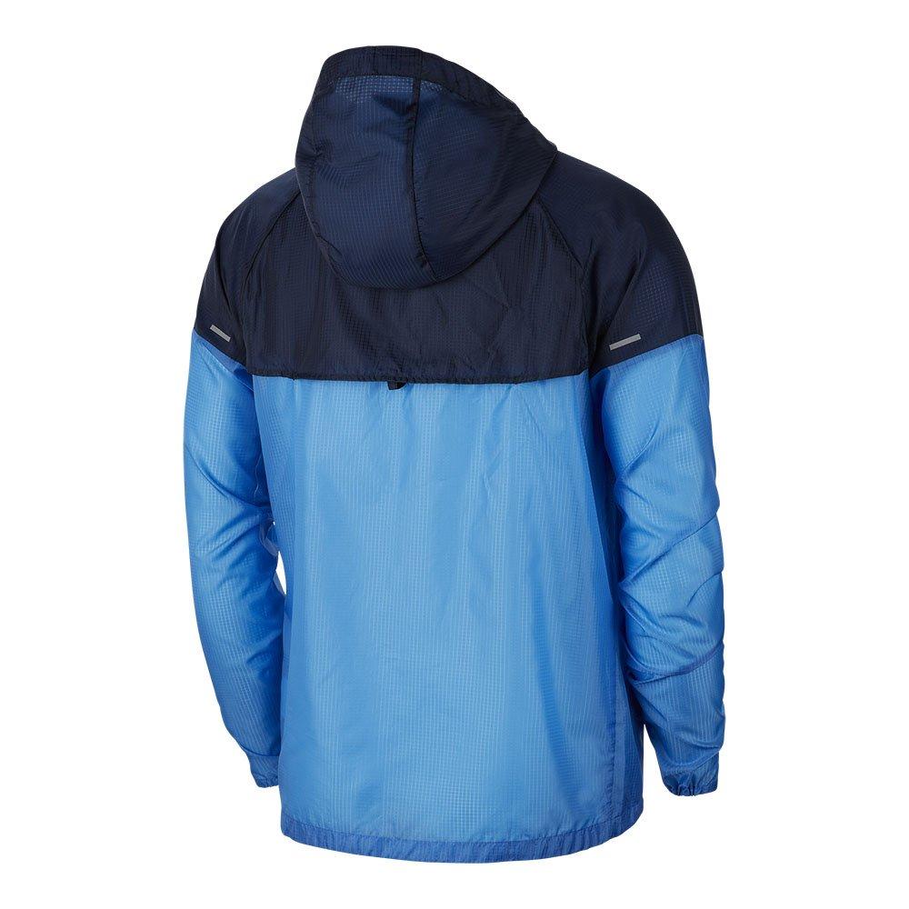 nike windrunner jacket m niebiesko-granatowa
