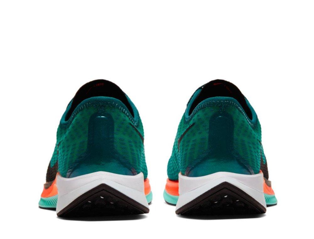 nike zoom pegasus turbo 2 ekiden w zielono-pomarańczowe