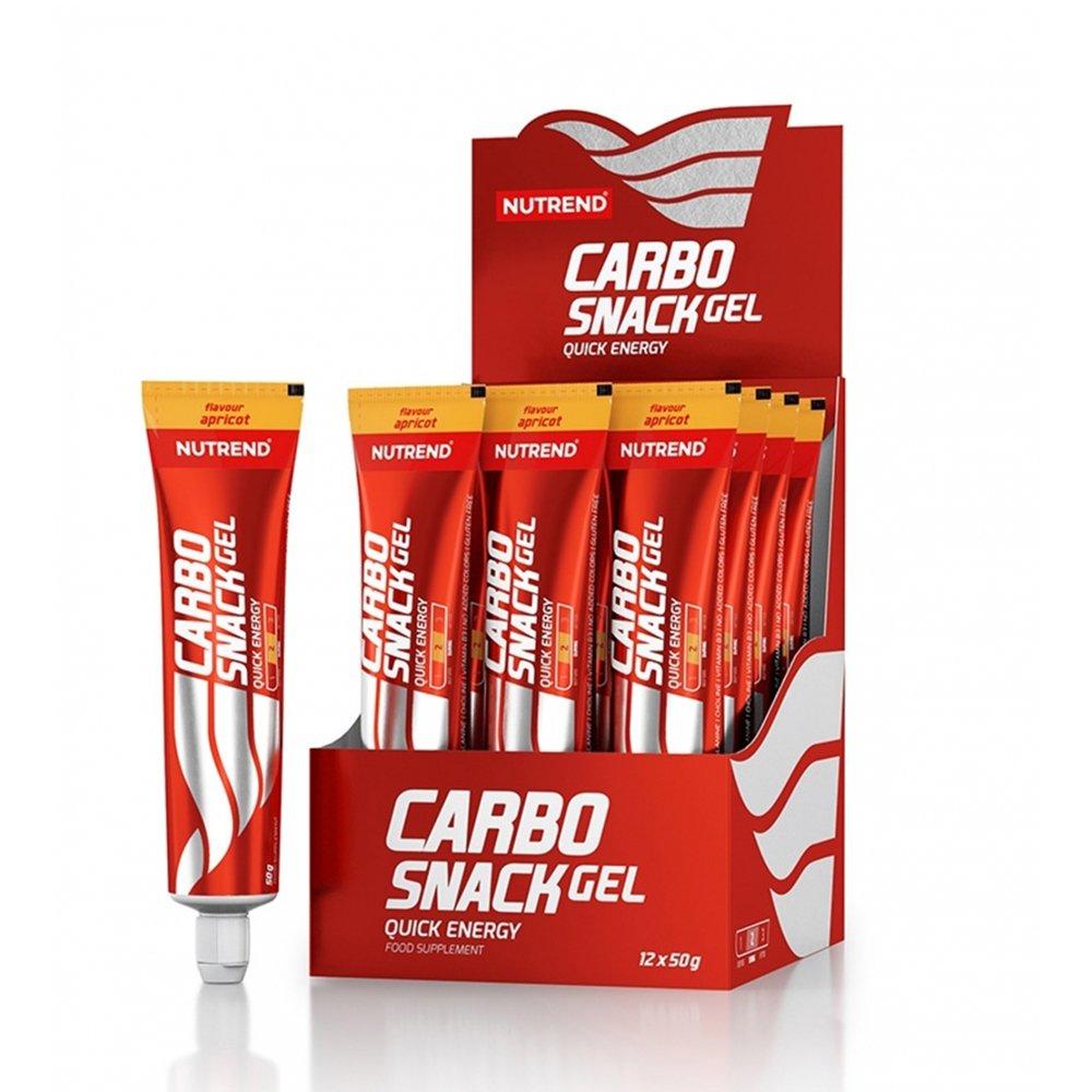 nutrend carbosnack 50 g tuba morela