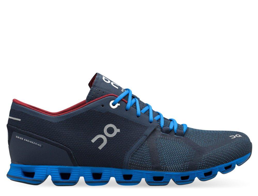 on running cloud x m niebiesko-granatowe