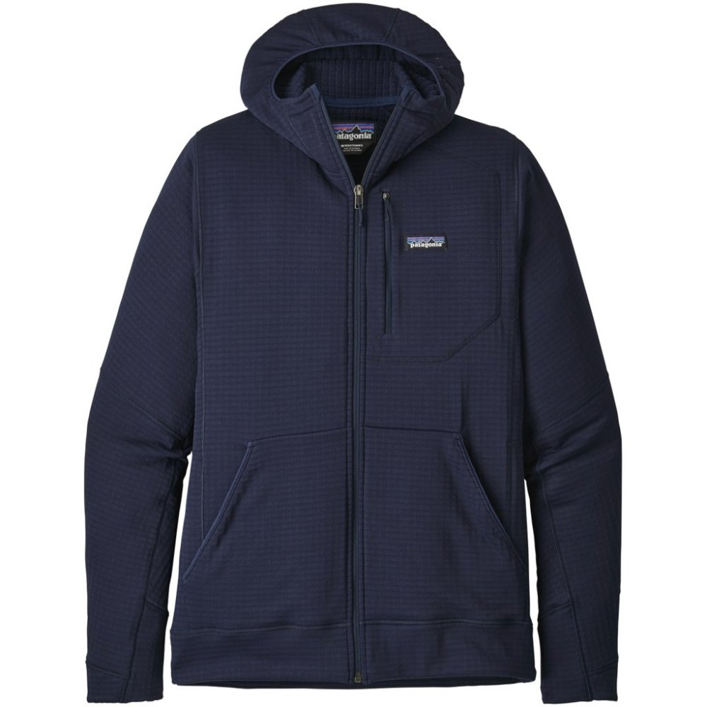 patagonia men's r1® fleece full-zip hoody (40090-cny)