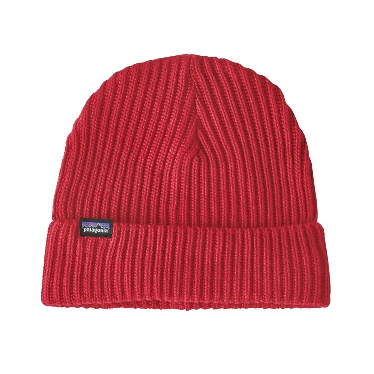 patagonia fisherman's rolled beanie (29105-rire)