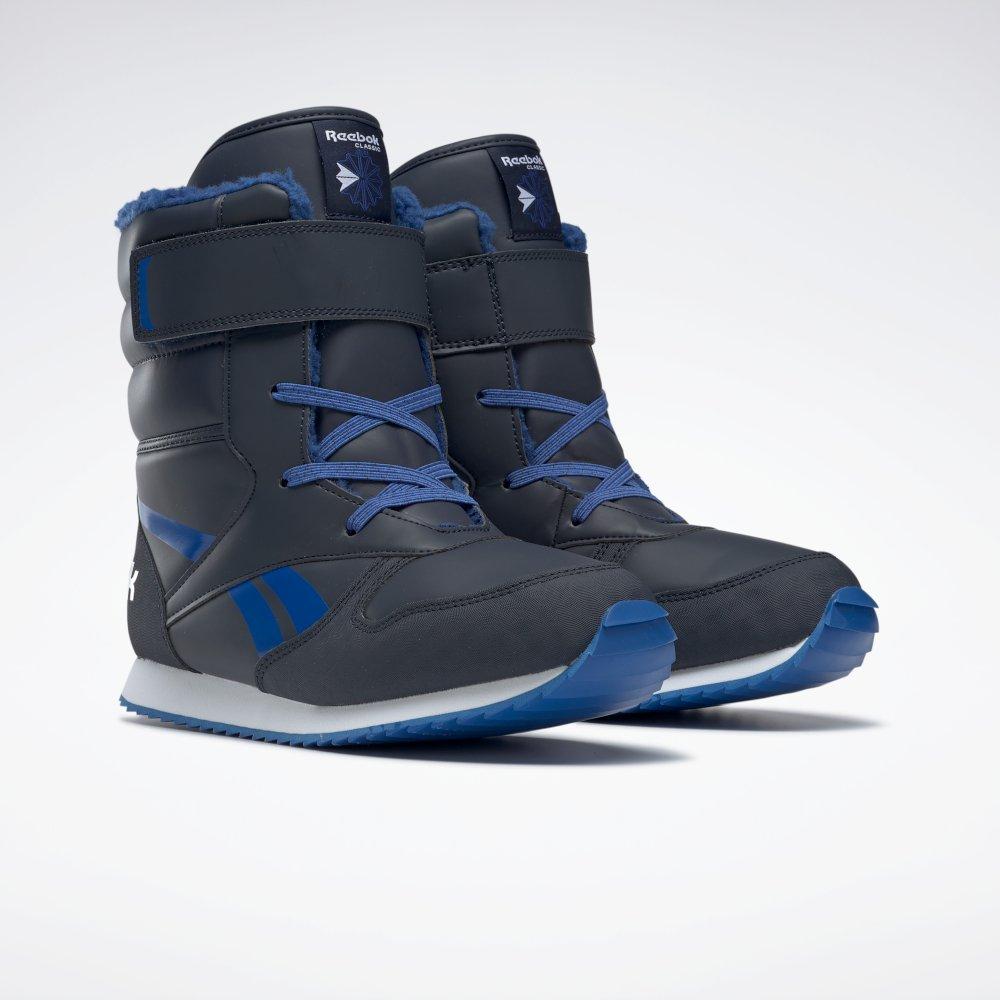 Reebok Classic Snow Jogger granatowo niebieskie