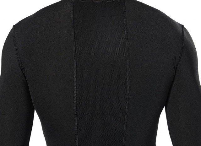 reebok wor compression long sleeve solid black