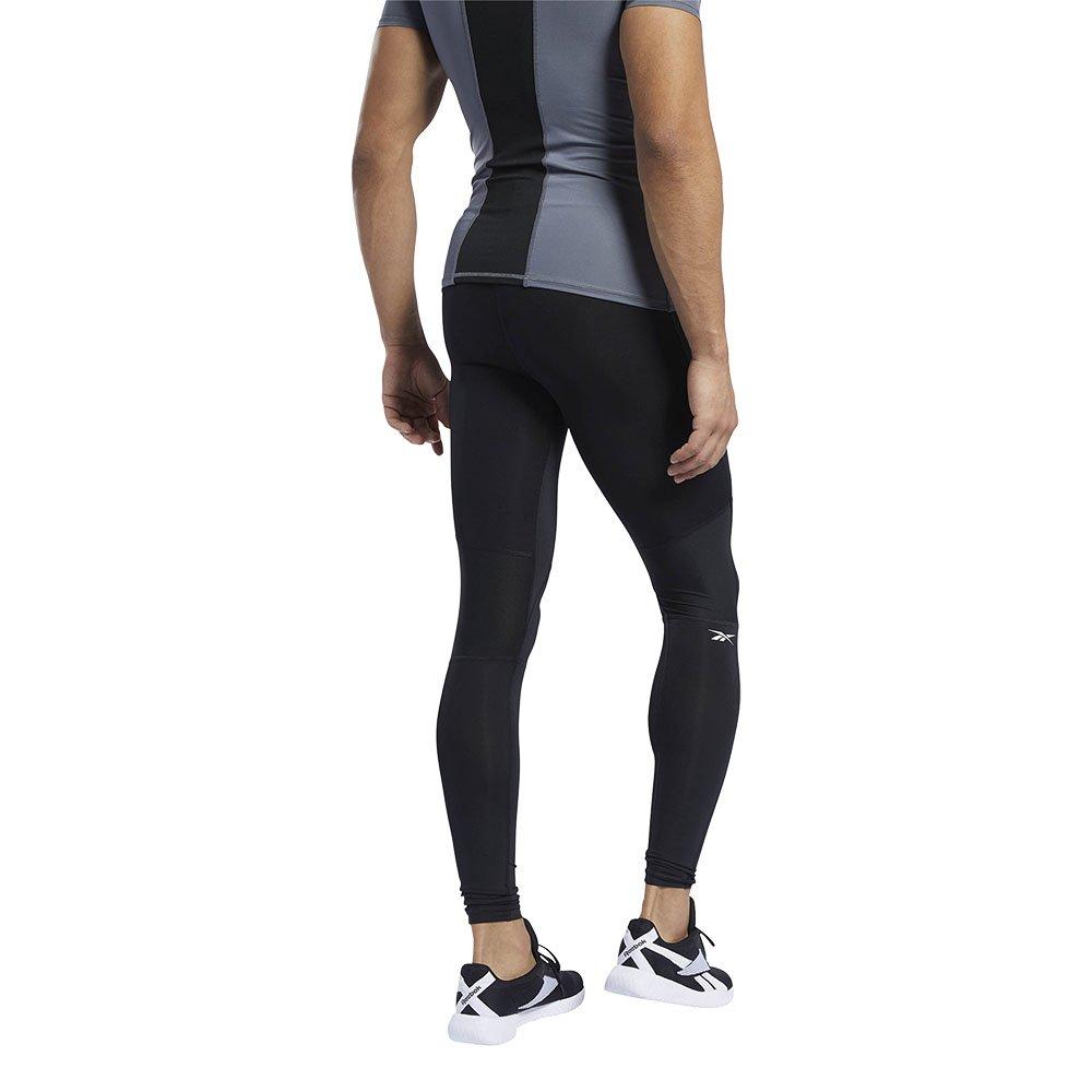 reebok workout ready compression męskie czarne