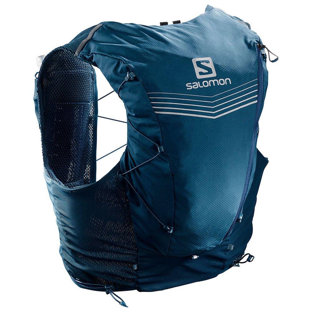 salomon adv skin 12 set morski-niebieski
