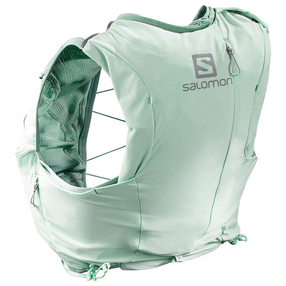 salomon adv skin 8 set w zielono-miętowy