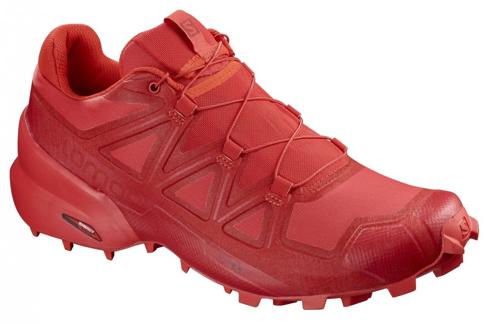 salomon speedcross 5 w płomienno-czerwone