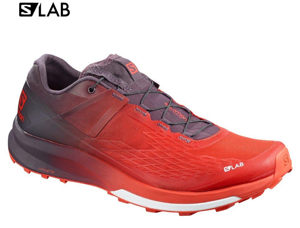 salomon s-lab ultra 2 m fioletowo-czerwone