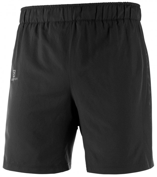 salomon agile 2in1 short black