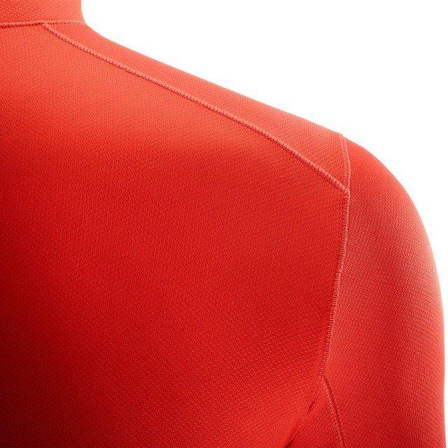 salomon agile mid fiery red heather