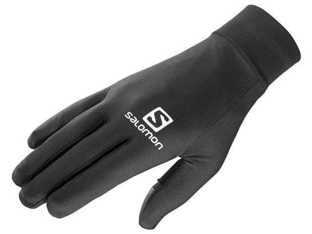 salomon pulse glove black/black