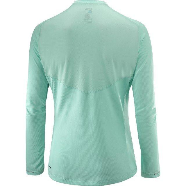 salomon koszulka agile long sleeve tee yucca