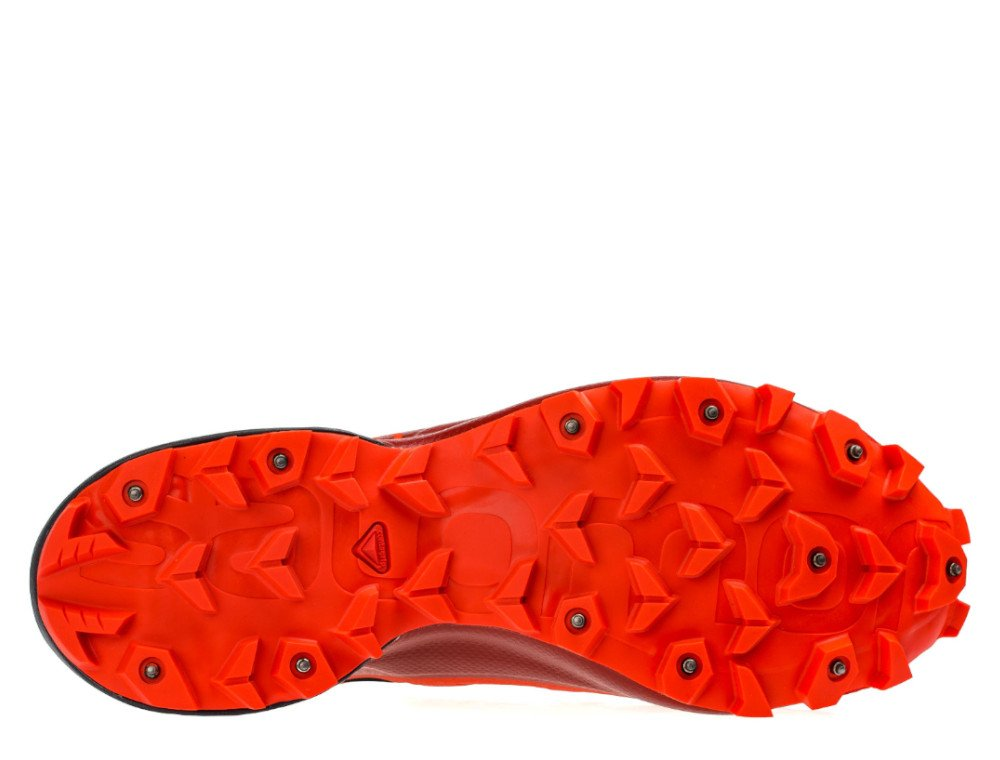 salomon snowspike cswp m czarno-czerwone