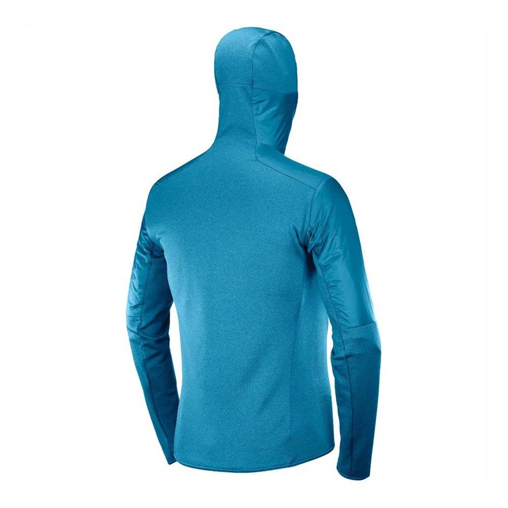 salomon outline warm jacket m niebieska