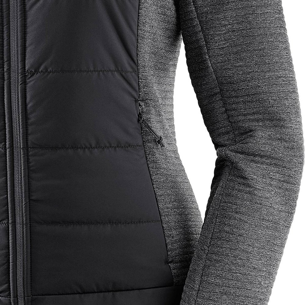salomon right nice hybrid hoodie w czarna