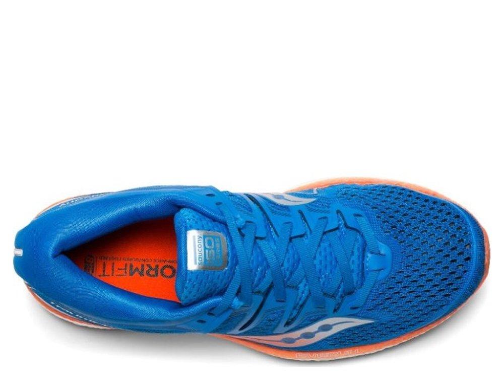 saucony triumph iso 5 blue orange