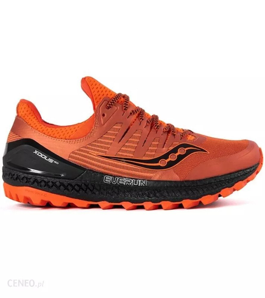 saucony xodus iso 3 orange black
