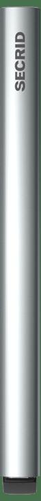 secrid cardprotector laser logo brushed silver (cla-logobrushedsilve)