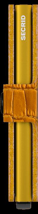 secrid miniwallet cleo ochre
