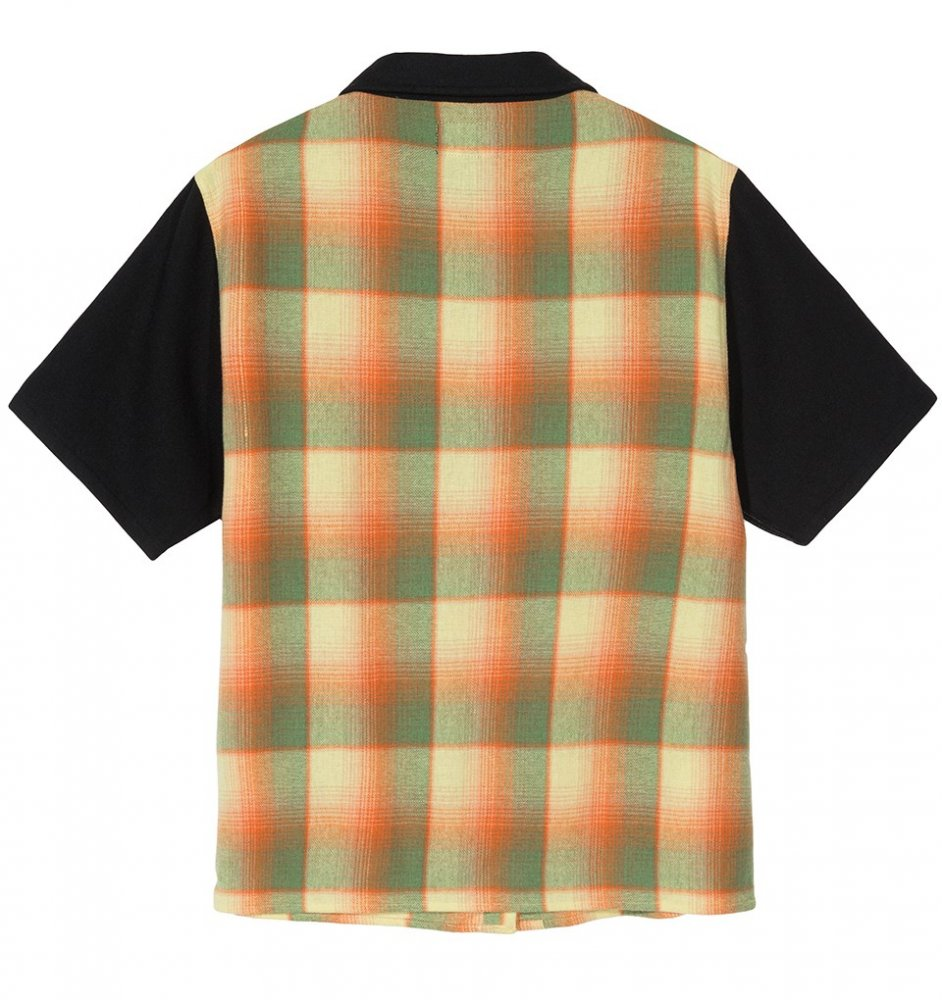 stussy doris plaid garage shirt (211141-0201)