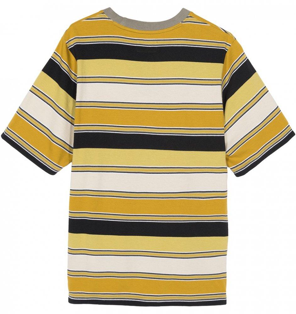 stussy carl stripe tee (214487-0203)