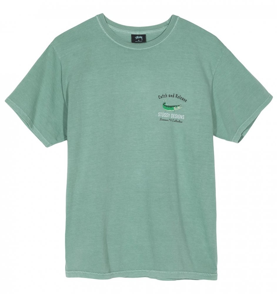stussy catch & release tee (1904395-1059)