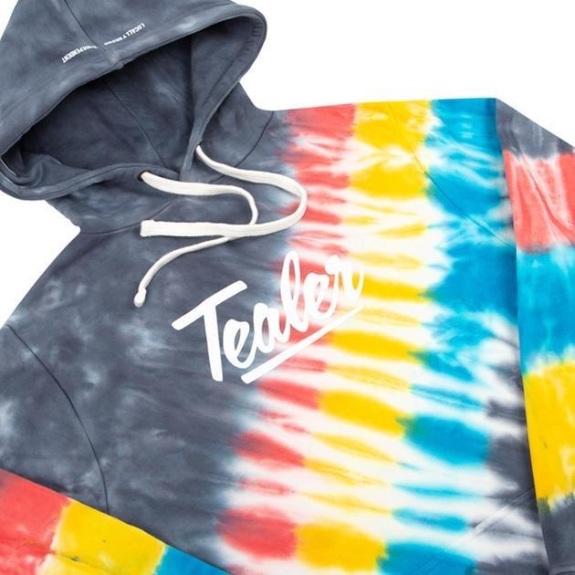 tealer hoodie tie & dye colors (tealer-050)