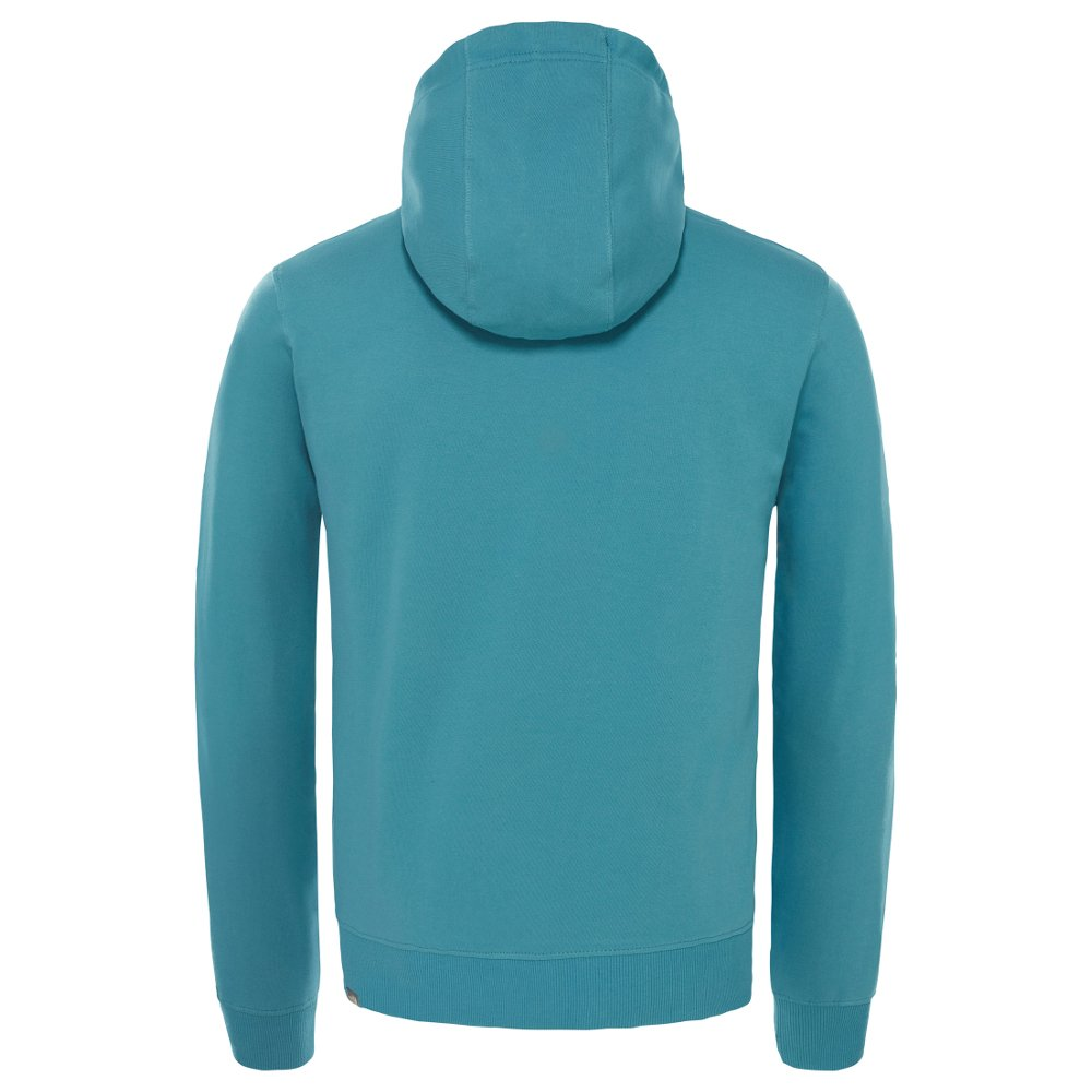 bluza the north face light drew peak hoody niebieska