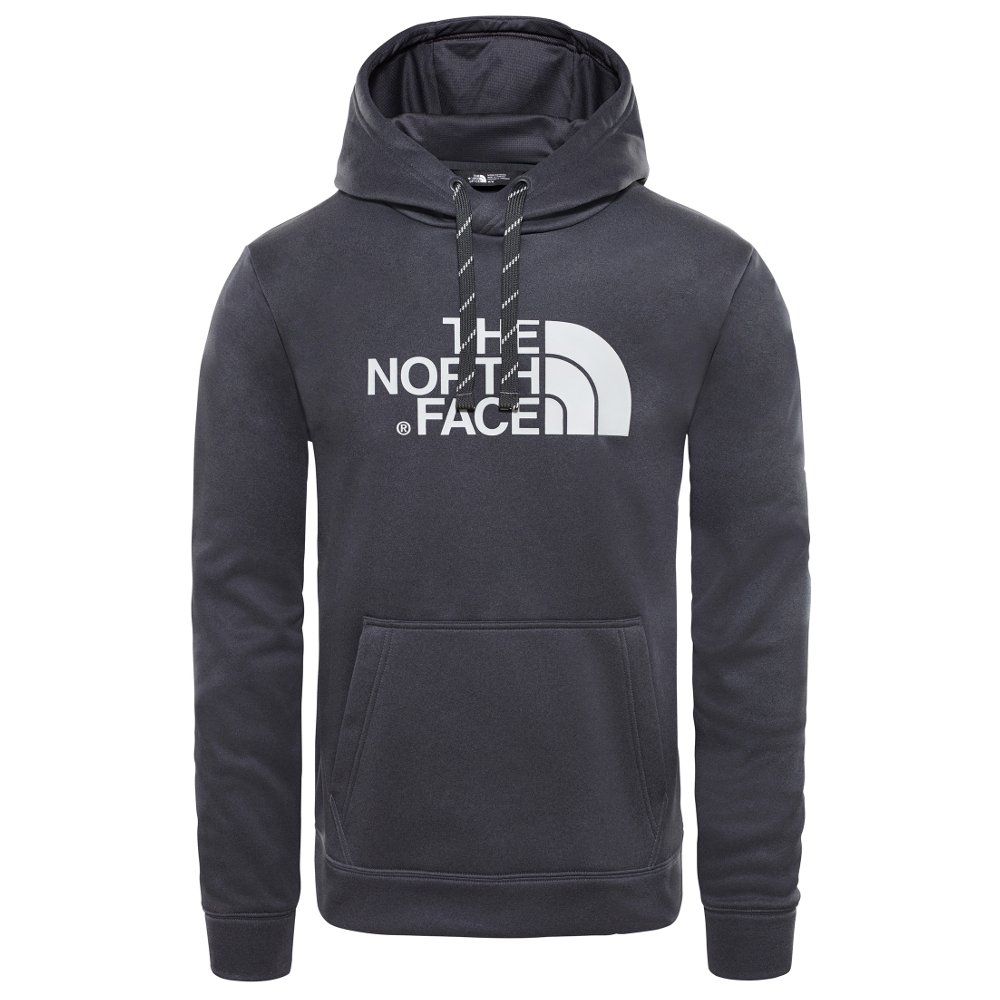 bluza the north face surgent hoodie drk gr