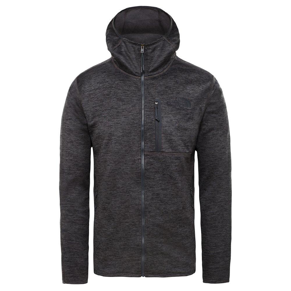 bluza the north face canyonlands hoodie tnf dark grey h