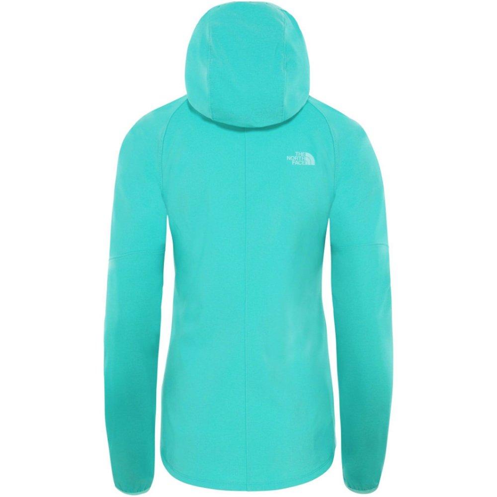 the north face apex nimble hoodie  w niebieska