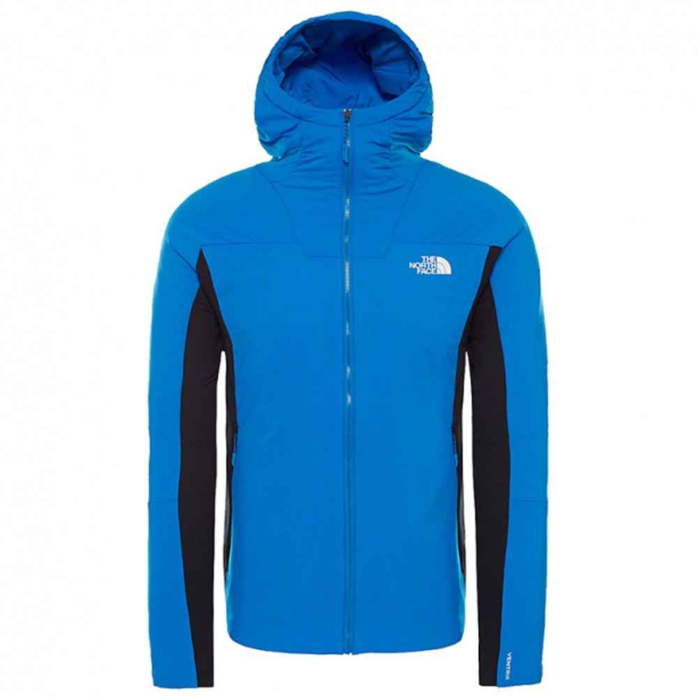 the north face ventrix hybrid jacket m niebieska