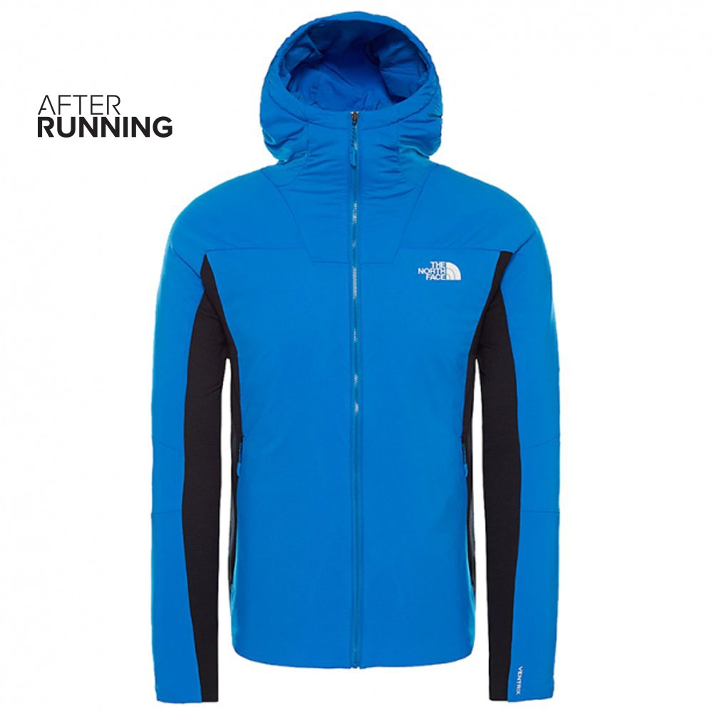 the north face ventrix hybrid jacket m niebieska