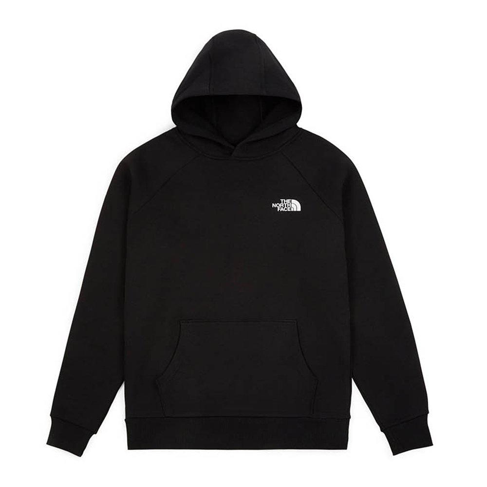 the north face raglan redbox hoodie (nf0a2zwuky4)