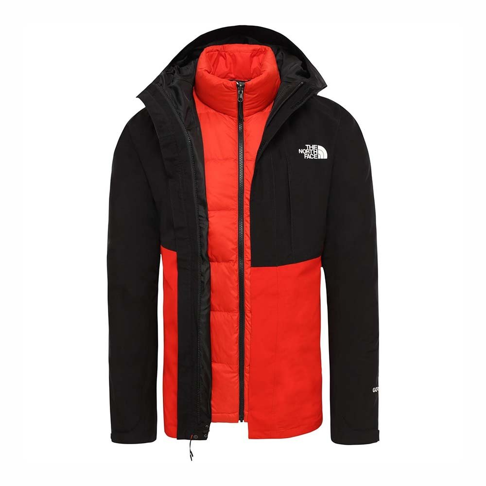 the north face m mtn lt tri tnfblk/fieryred