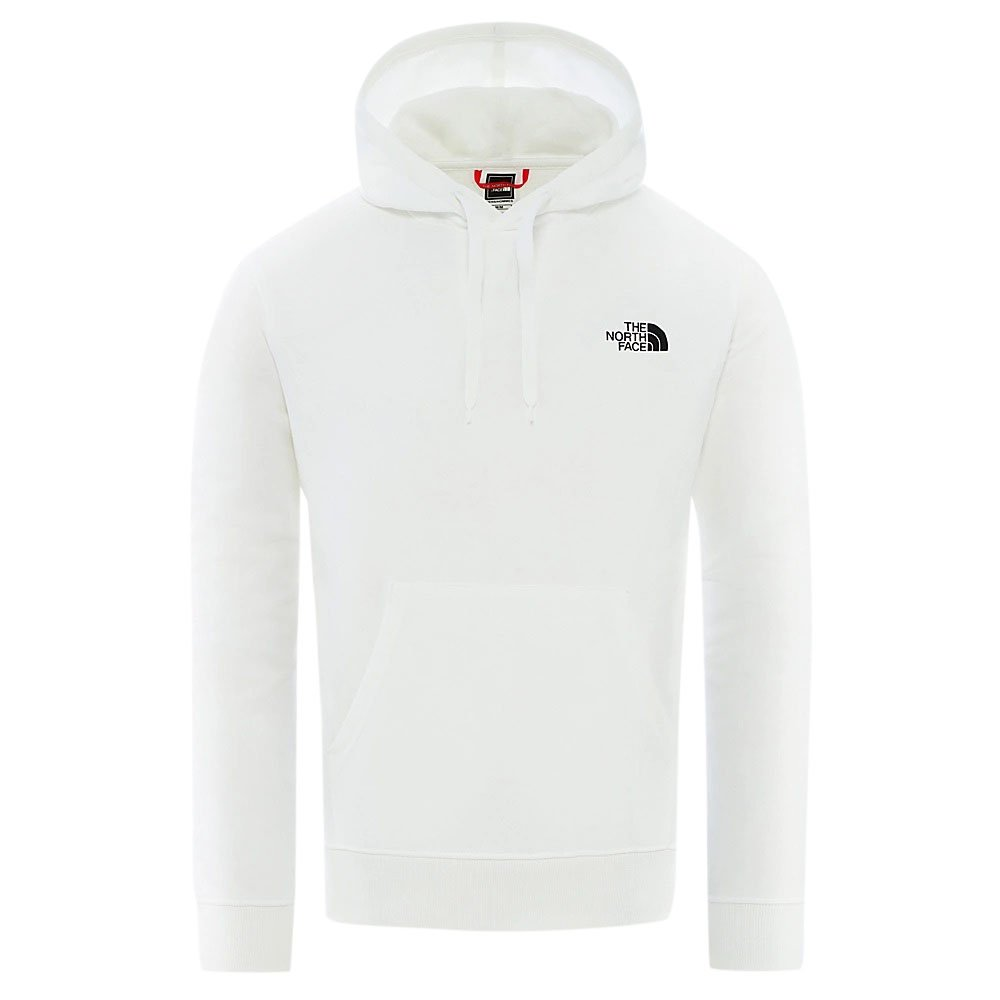 the north face m graphic flow hoodie (nf0a492ala9)